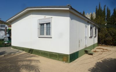 ESPECTACULAR MOBIL HOME 63 M2 HERGO VICTORIA 3 DORMITORIOS