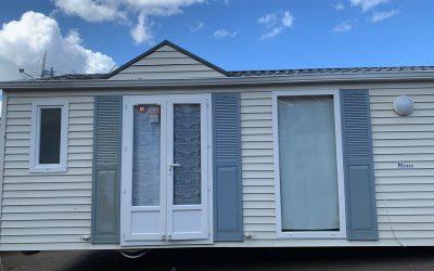 Mobil home seminuevo Louisiane 8×4 m 2 dormitorios