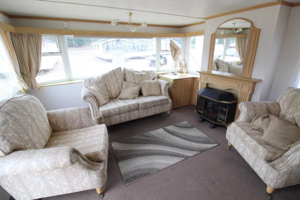 Mobile Home 3 Dormitorios 11 x 4 metros con climalit.