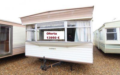 Casa movil 11×3,70 m 2 dormitorios